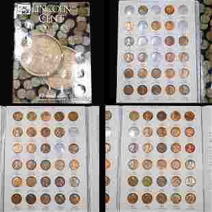 Near Complete Lincoln Cent Book 1909-1940 79 coins