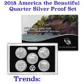 2018 United States America The Beautiful Silver Proof