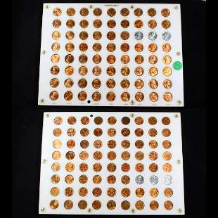 ***Auction Highlight*** Complete Lincoln Cent Captial