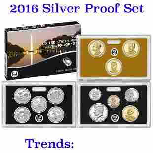 2016 United States Silver Proof Set 13 coins