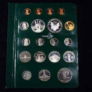 Complete United States Proof Type Set Page 1976-2009 19