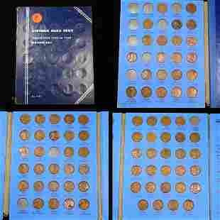Near Complete Lincoln Cent Book 1909-1940 78 coins