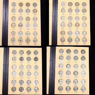 ***Auction Highlight*** Complete Jefferson Nickel Book