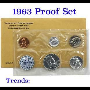 1963 Proof Set in Original mint packaging