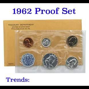 1962 Proof Set in original mint packaging