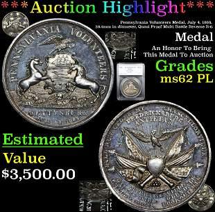 *Highlight* Pennsylvania Volunteers Medal, July 4,