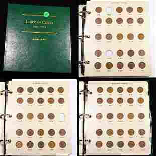 ***Auction Highlight*** Near Complete Lincoln Cent Book