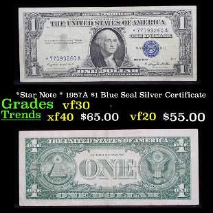 *Star Note * 1957A $1 Blue Seal Silver Certificate