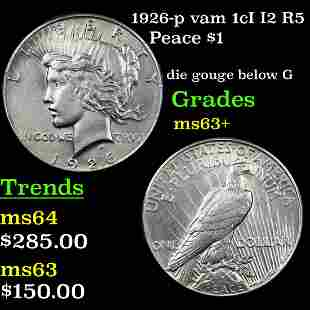1926-p vam 1cI I2 R5 Peace $1 Grades Select+ Unc