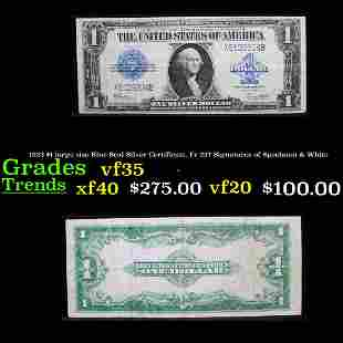 1923 $1 large size Blue Seal Silver Certificate, Fr-237