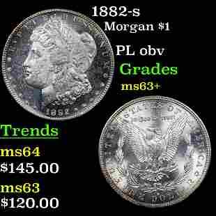 1882-s Morgan $1 Grades Select+ Unc