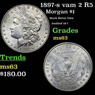 1897-s vam 2 R5 Morgan $1 Grades Select Unc