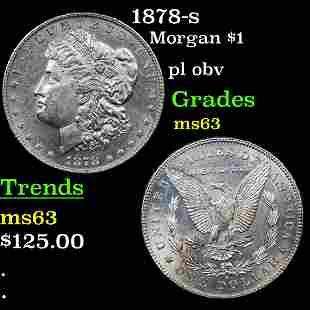 1878-s Morgan $1 Grades Select Unc