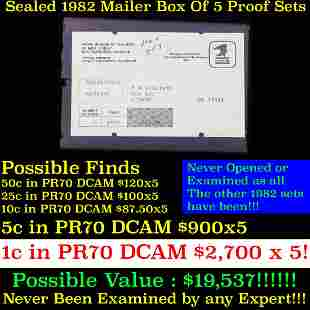 ***Auction Highlight*** Original sealed box 5- 1998