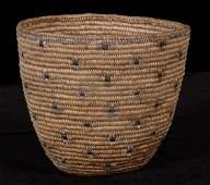 200: Puget Sound Imbricated Berry Basket - Cross Design