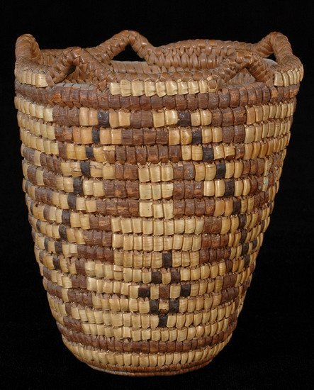 15: Klikitat Child's Berry Basket Fully Imbricated with