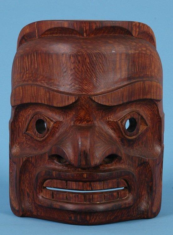 23: Kwagiulth Komokwa Mask ca. 1960's Alert Bay, B.C. 1