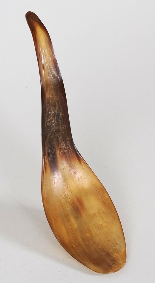 523: Tsimshian Horn Spoon ca. 1900 From the Estate of E