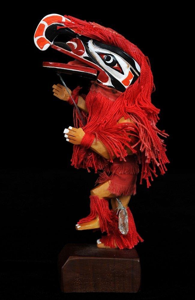 Articulated Kwakwaka'wakw Crooked Beak Hamatsa Dancer 7