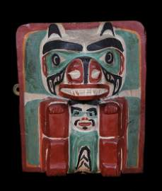 Grizzly Bear Frontlet ca. 1920 - 1930 Attributed To