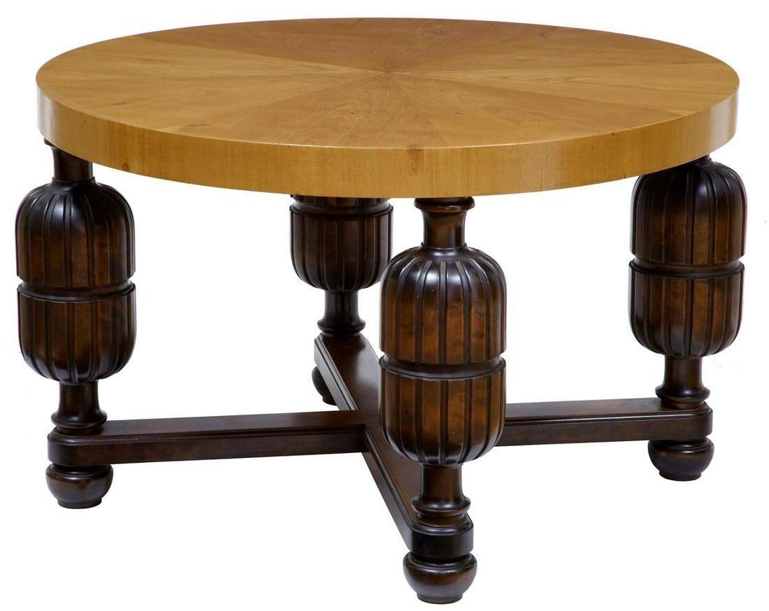 ART DECO SWEDISH BIRCH COFFEE TABLE