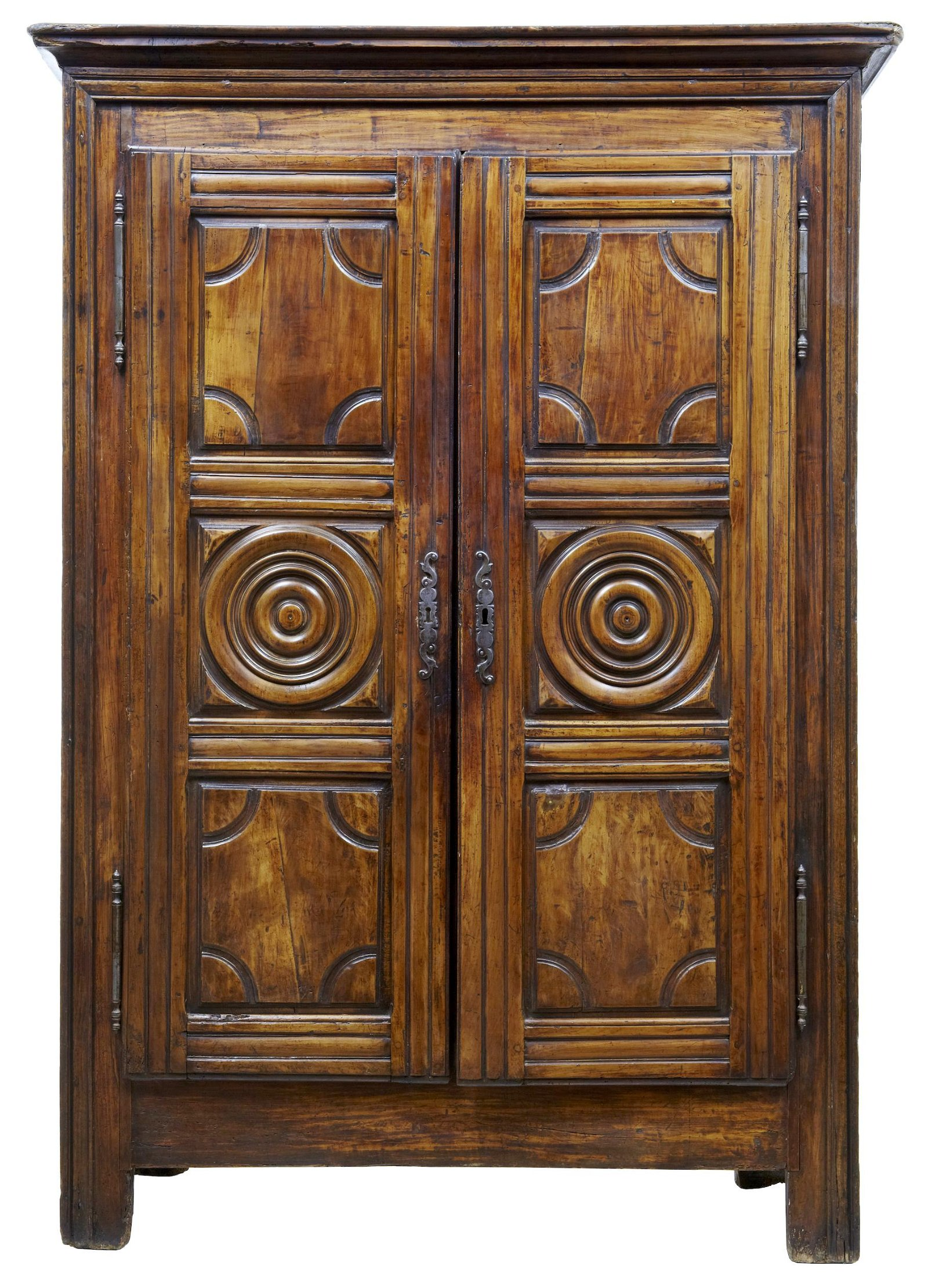 18TH CENTURY FRENCH FRUITWOOD ARMOIRE
