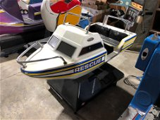 Rescue Boat Coin Operated Kiddie Ride