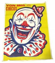 Original Clown Circus Poster