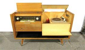 1958 Grundig Majestic Mid Century Radio Console