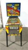 Bally Star Trek Coin Operated Pinball Arcade Game