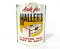 Hallers Old Home Bread Sign with Twine Holder