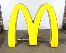 LARGE McDonalds Golden Arches Neon Sign