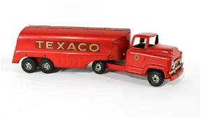 1950s Buddy L Texaco Tanker Toy Truck