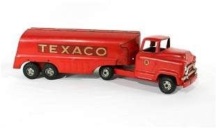 1950s Buddy L Texaco Tanker Toy Truck