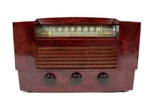 RCA Victor Catalin Radio, Model 66X8