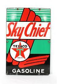 1947 Sky Chief Texaco Porcelain Sign