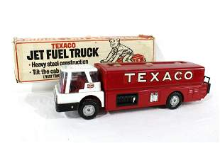 Texaco Jet Fuel Toy Truck with Box