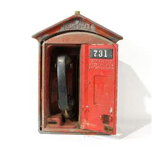 Antique Gamewell Emergency Call Box