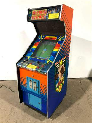 Data East Ring King Arcade Game