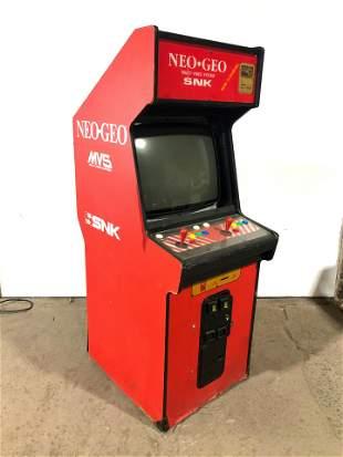 SNK Neo Geo Arcade Game w/ Metal Slug 2 Cartridge