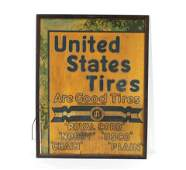 Early United States Tires Sign