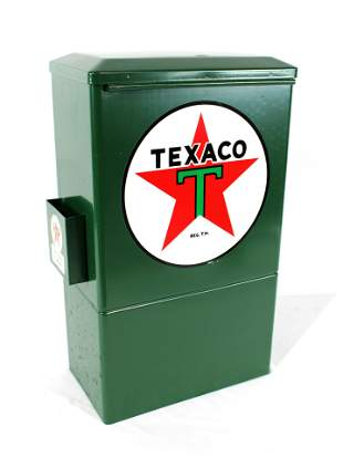Restored Texaco Towel Dispenser