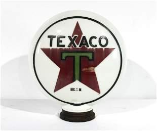 Original Texaco Gas Pump Globe