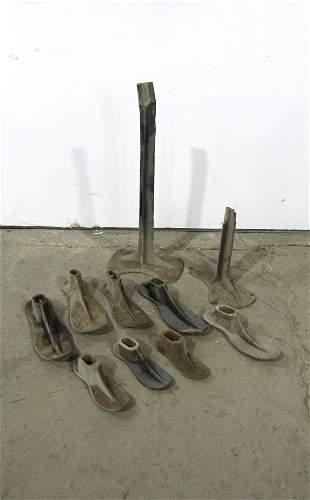 Antique Cast Iron Cobbler Shoe Molds