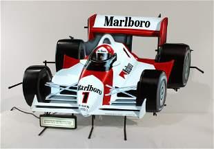 Marlboro Cigarettes Race Car Neon Sign