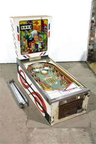 Gottlieb Four Square Wedgehead Pinball Machine