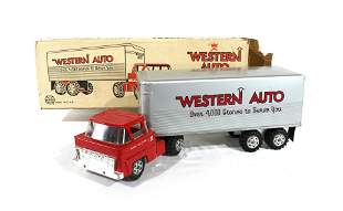 Marx Toys Western Union Truck with Box