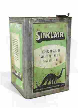 Sinclair 5 Gallon Emerald Auto Oil Can