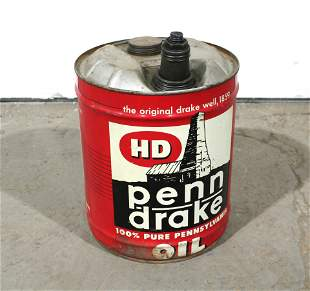 Penn Drake 5 Gallon Oil Can