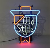 Old Style Beer Neon Sign